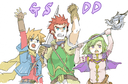 Golden Sun Dark Dawn Party