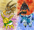 Golden Sun 1 As Eeveelutions