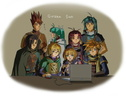 Golden Sun: Laptop gathering