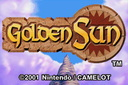 Golden Sun Start Screen
