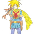 Golden Sun Hero Isaac