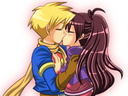Valeshipping Kiss