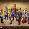 Golden Sun Dark Dawn Full Party Wallpaper