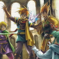 Golden Sun Official Art Djinn Trouble