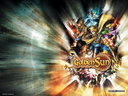Golden Sun Party Wallpaper