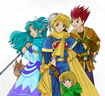 Golden Sun Cast