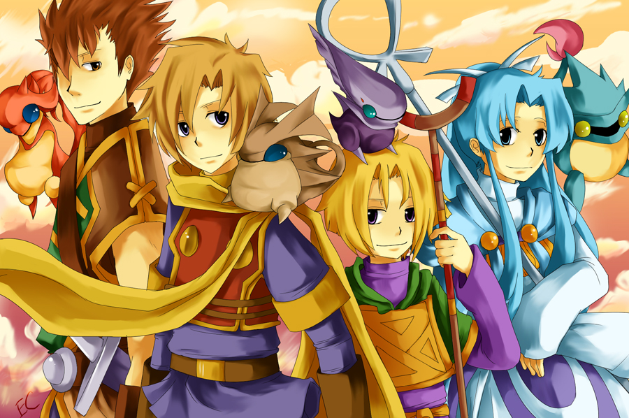 Golden Sun Heroes by Chunwei